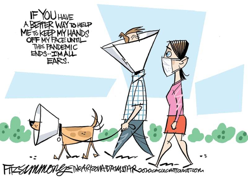 pet cone comic