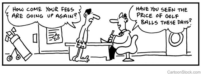 Doctor Golf Cartoon